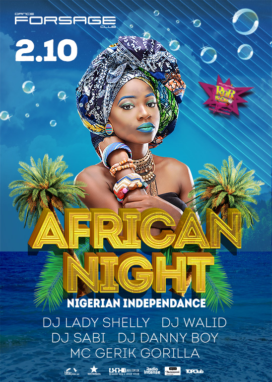 RnB BooM. NIGERIAN INDEPENDANCE. African party
