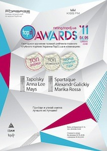 TOPDJ AWARDS 2010-2011