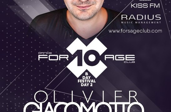 For10age B-day, day 2nd: Olivier Giacomotto (France)