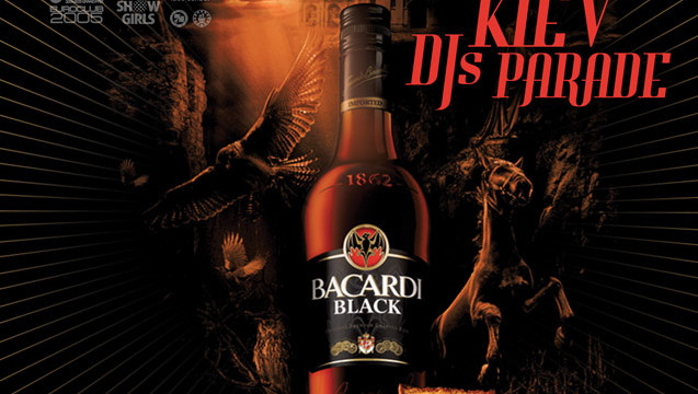 Bacardi B-Black night