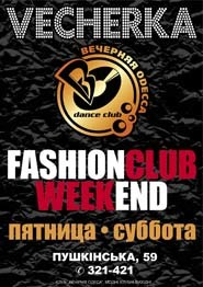 FASHION CLUB WEEKEND