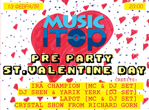 Pre party St.Valentine day