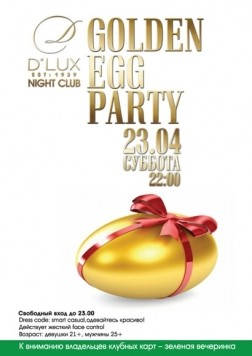 Golden eggs party