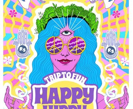 Happy Hippy. Trip To Fun