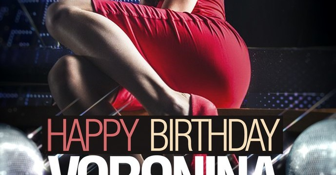 Happy birthday Voronina!!!