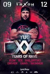 Yug 20 Years Of Rave