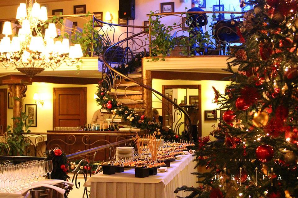 Заказать ресторан на новый год в праге