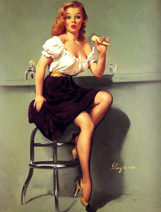 Джил Элвгрен:искусство на грани порно