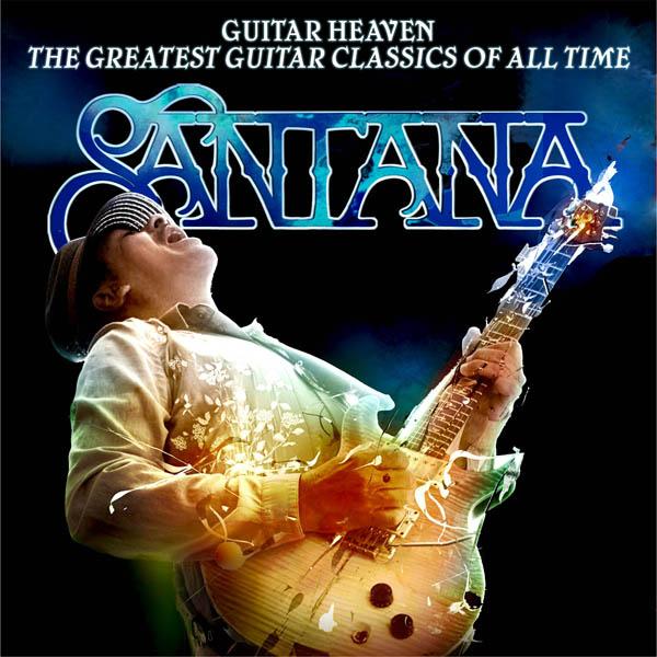 Обложка последнего альбома Карлоса Сантаны