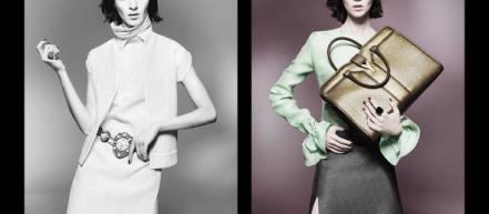 Cтрогая кампания Yves Saint Laurent SS 2012