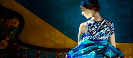 Цветочный look book Mary Katrantzou