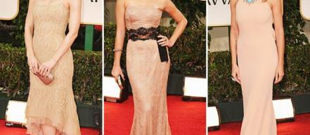 Топ-10 платьев Golden Globe Awards 2012