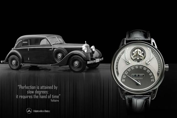 Mercedes 320 Tourbillion Watch