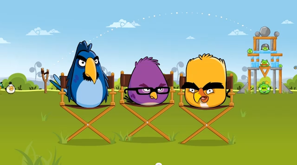 Новые герои в Google Chrome: Angry Birds (Видео)
