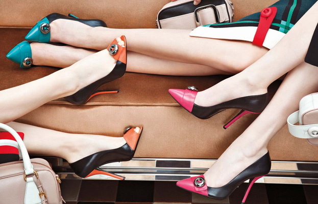 Кампании: Обувь Prada Fall 2011