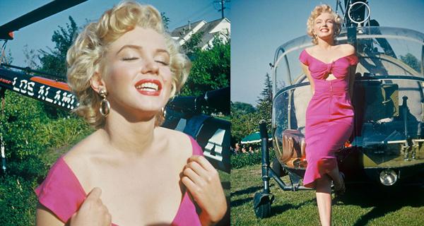 Аукцион 3D фотографий Marilyn Monroe