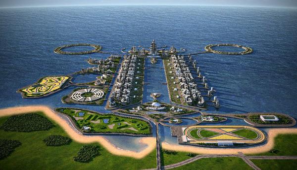 Азербайджанский мегаполис будущего