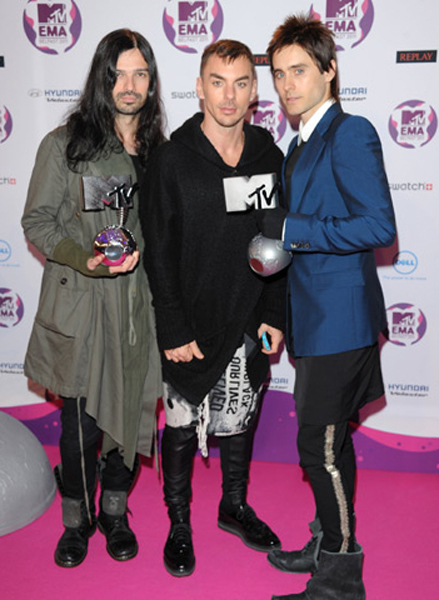 Best of the best! MTV EMA 2011