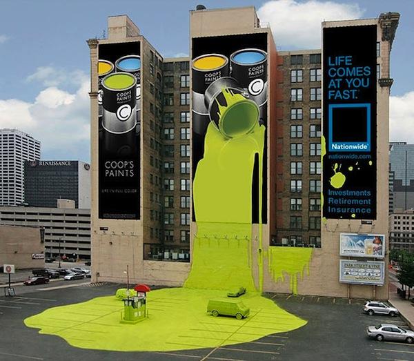 ТОП-10 креативных биллбордов
