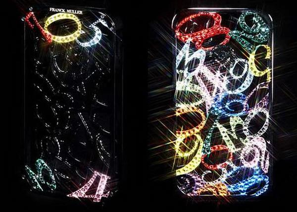Блестящий наряд для iPhone