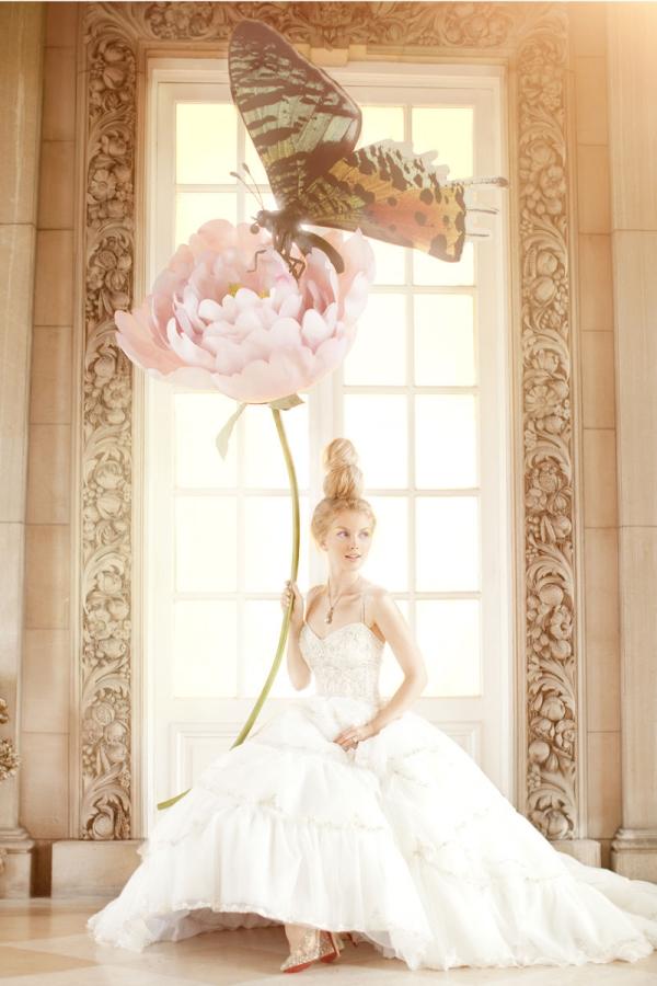сказочные свадебные платья