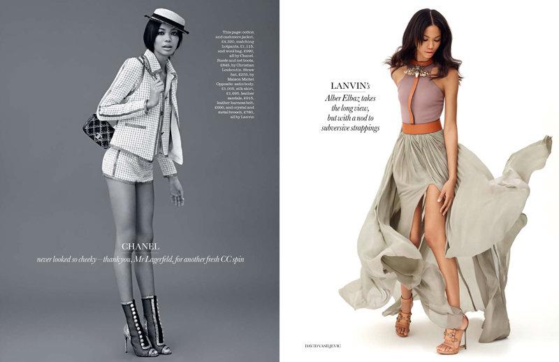 Главные тенденции весны в Elle UK