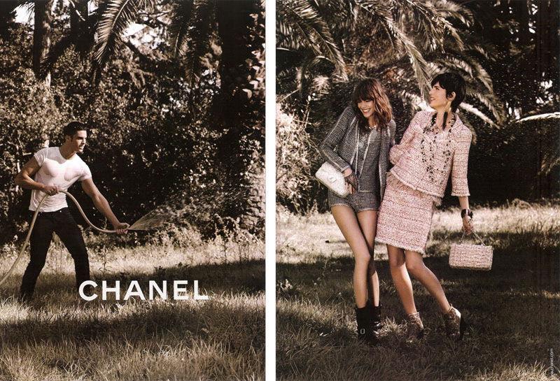 Весення кампания Chanel