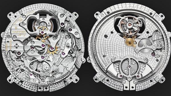Часовая новинка с репетиром от Cartier