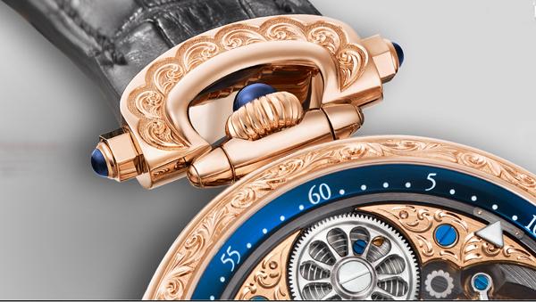 Часы из красного золота от Bovet