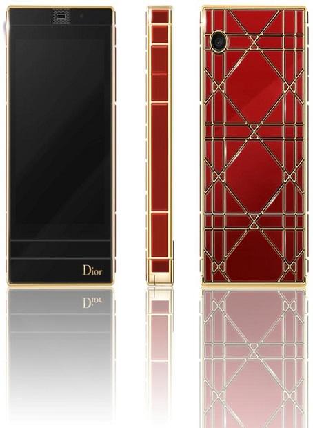 Christian Dior выпустил новый сенсорный телефон