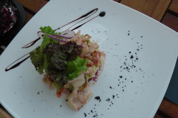Дегустация азиатских морепродуктов