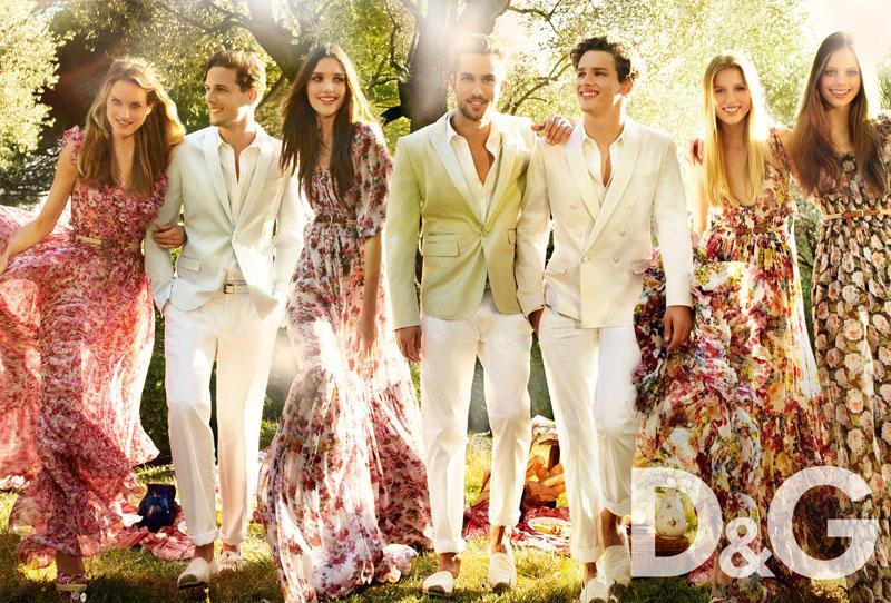 Весення кампания D&G 2011