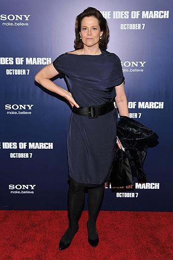Джордж Клуни представил «Мартовские иды» в Нью Йорке