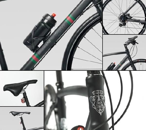 Езда со стилем от Bianchi by Gucci