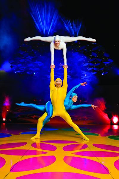 Феерия Cirque du Soleil в Киеве