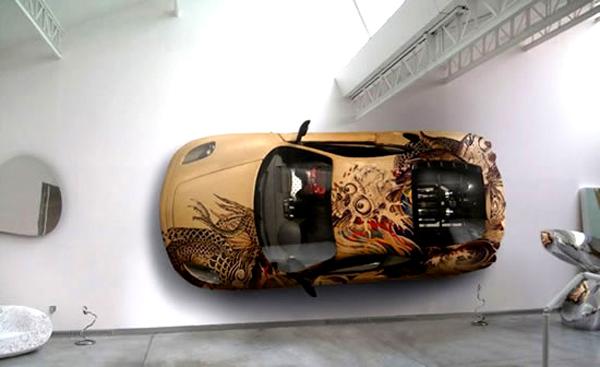 Ferrari F430 как предмет искусства