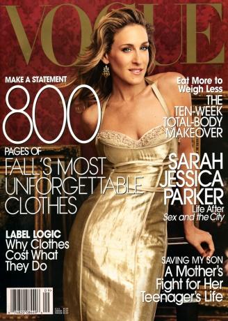 Фотосессии: Сара Джессика Паркер для августовского Vogue US