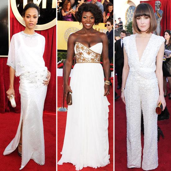 Голливудская роскошь: самые стильные наряды на SAG Awards