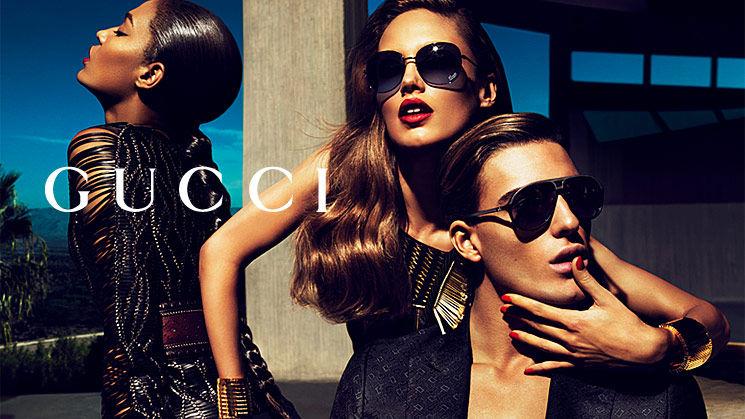 Весенняя кампания аксессуаров от Gucci