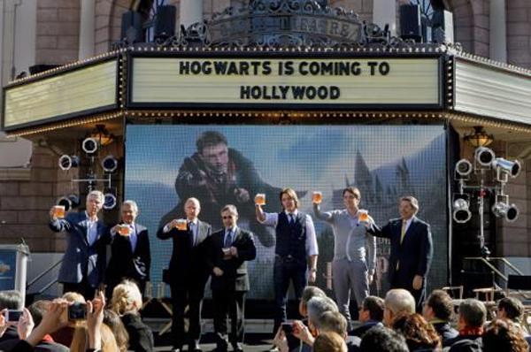 Хогвартс открывает филиал в Голливуде