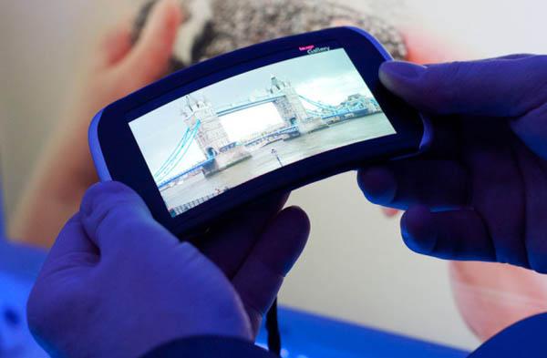 Инновационный телефон Nokia Kinetic Device