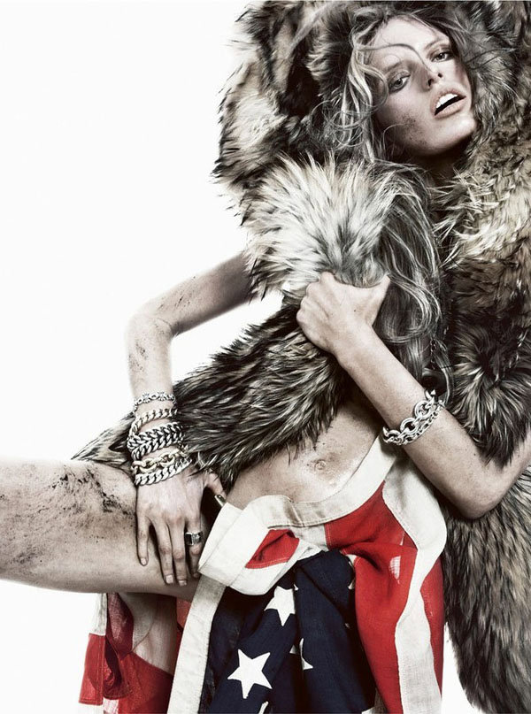 Каролина Куркова в Vogue Spain