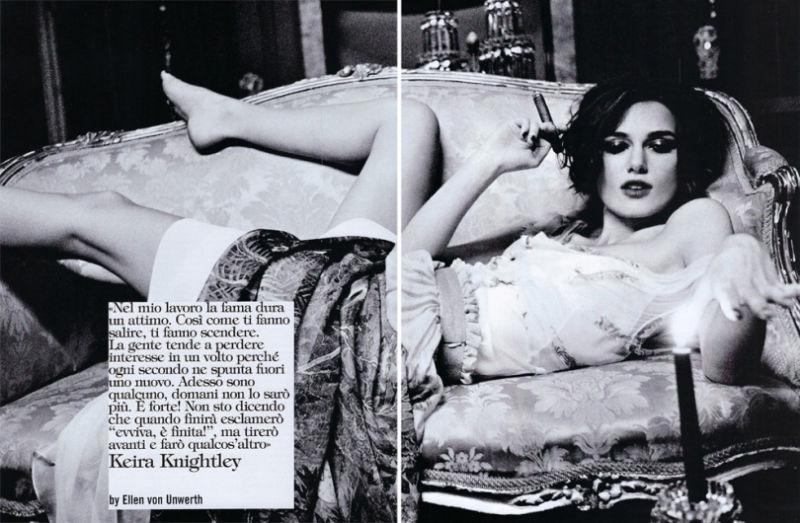 Кира Найтли для Vogue Italia