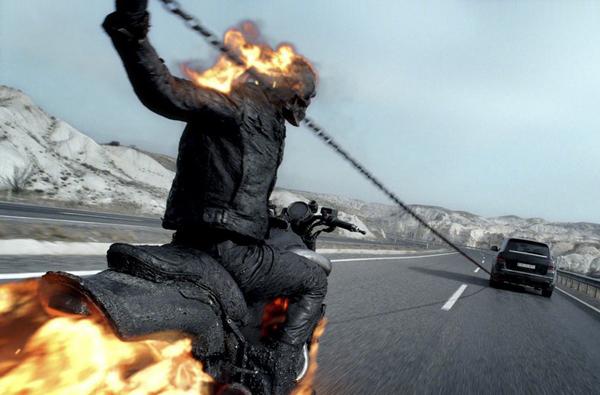 Николас Кейдж снова в роли адского байкера
