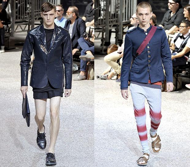 Lanvin открывают глаза на будущее мужской моды
