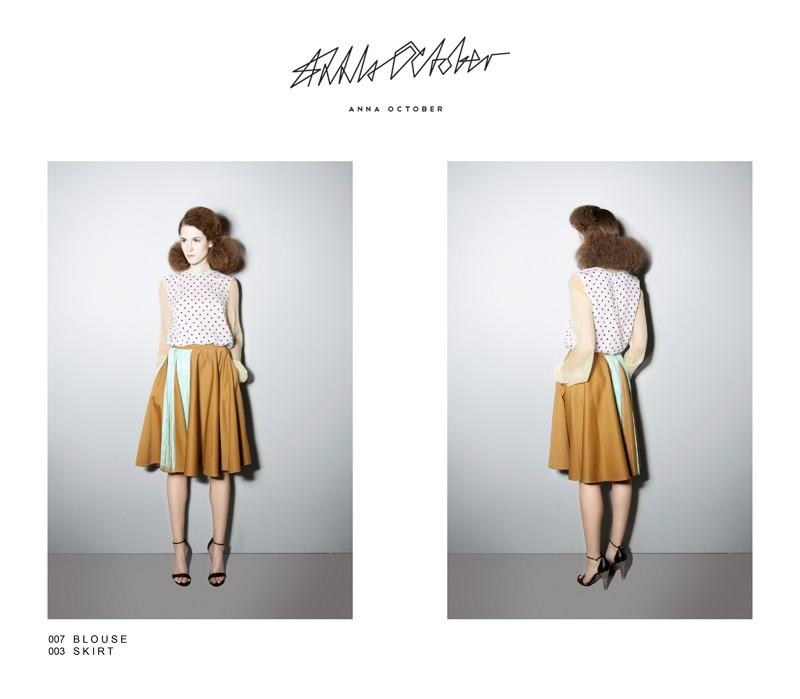 Look book SS 2012 украинского дизайнера Anna October