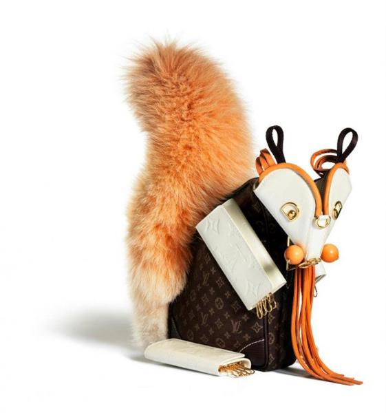 Louis Vuitton открыли модный зоопарк
