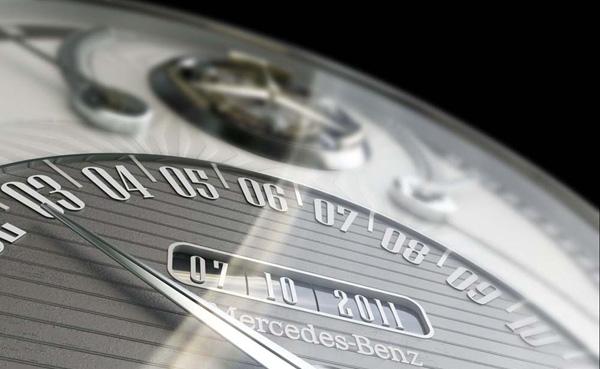 Mercedes 320 Tourbillion Watch