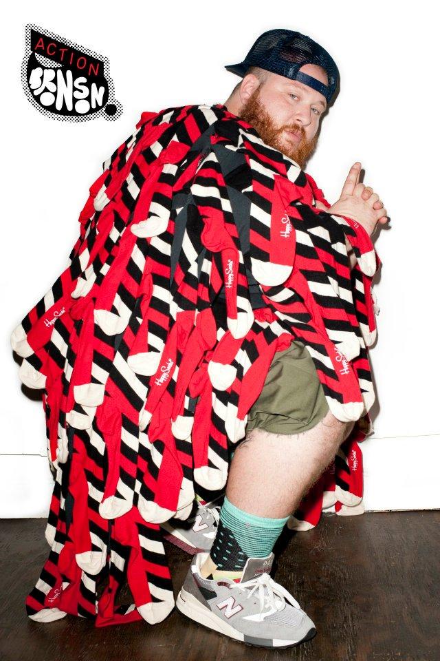 Модная съемка Терри Ричардсона для Happy Socks
