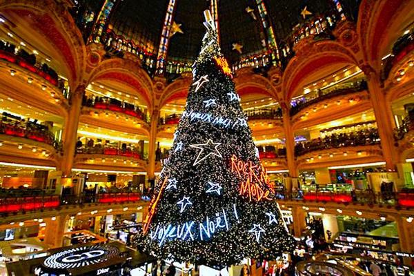 Необычные новогодние елки мира